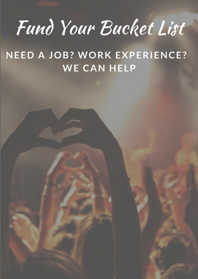 Need a Job? Work Experience? We Can Help
